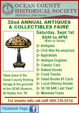 Ocean County Historical Society - Antiques and Collectibles Show