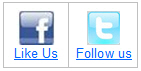 Facebook and Twitter for Toms River Online